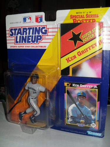 STARTING LINEUP MLB - KEN GRIFFEY JR / SEATTLE - 1992 SUPER STAR POSTER SERIES