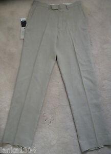 Next-Neutral-coloured-100-Pure-Linen-Trouser-W32-034-L33-034-NEW-Euro-53-00