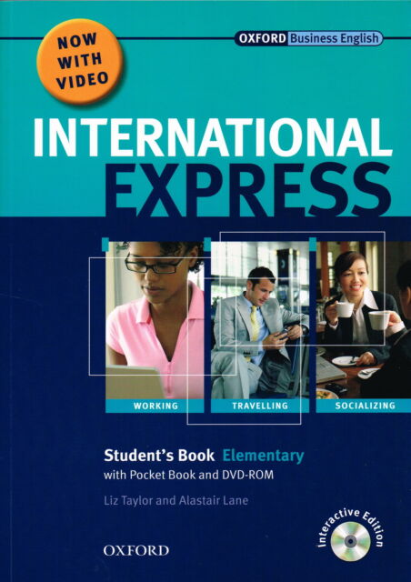 Oxford Business English INTERNATIONAL EXPRESS Elementary Students Book w DVD NEW