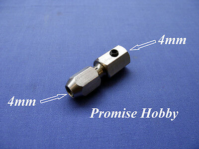 flex collet coupler for 4mm motor shaft and 4mm flex cable - rc boat