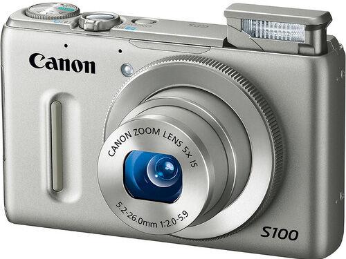Canon PowerShot S100 12.1MP Digital Camera - Black for ...