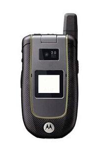 Excellent Condition Unlocked AT&T Motorola Tundra VA76r Rugged Flip Phone Used