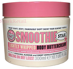 Soap-and-Glory-SMOOTHIE-STAR-Lightly-Whipped-Body-Buttercream-Butter-Cream-300ml