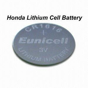 how to change battery honda key fob