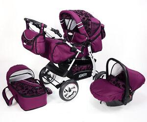 Carrozzina passeggino trio vip1 borsa parapioggia for Passeggino trio ebay