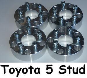 Wheel-Hub-Spacers-5-Stud-Toyota-Landcruiser-100-105-200-205-70-76-78-79-series