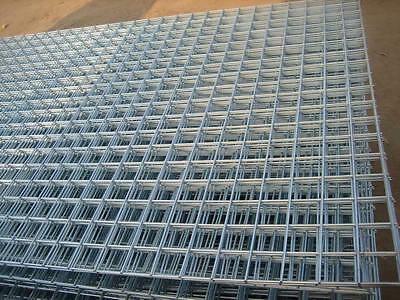 Galv Welded Wire Mesh Panel 2400(8')x1220(4')x50mmx50mmx2.0mm (5 Pack) See Below