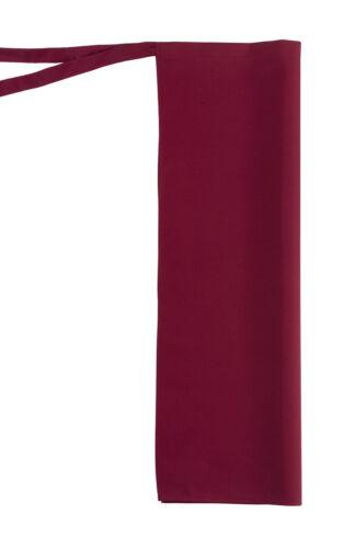 Bistroschürze mit Gehschlitz Vorbinder Leiber 11//1258 80x125cm,9 Farben
