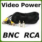 Addlogix Surveillance Security Cctv Camera Video Power Cable Extension Wire 100ft Bnc 3je