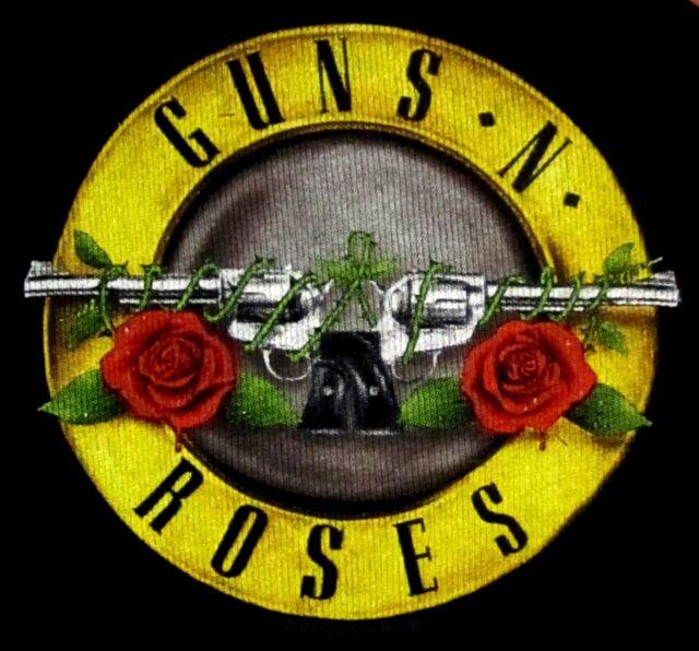 GUNS N' ROSES cd cvr APPETITE LOGO Official Baby ONE PIECE Shirt 24 Months New