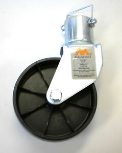 Genuine-Atwood-6-034-Caster-Wheel-A-Frame-Jack-Trailer-1200-with-Pin-40301
