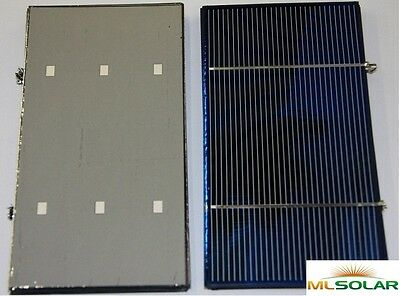 40 WHOLE 3x6 Solar Cells Factory Short Tabbed 1.8W Each