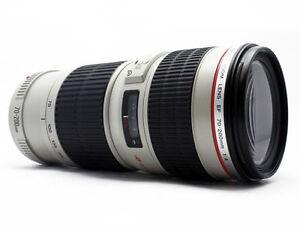 Canon EF 1258B002 70 200mm F 4 L IS USM Lens