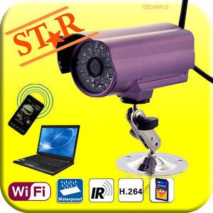 Outdoor-Waterproof-Network-Security-IP-Camera-micro-SD-WIFI-Night-Vision-Alarm