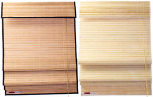 2-039-x-6-039-24-034-x-72-034-Natural-Bamboo-Roman-Blinds-Shade-w-Valance