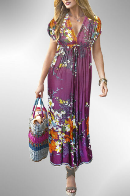 Sexy Long Maxi Dress Kimono Resort Wear Cruise Dress Choose colors FREE SHIPPING