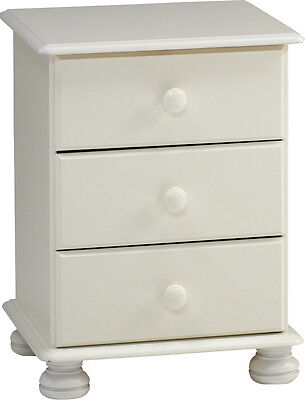 Richmond White Bedroom Furniture, Bedside Cabinets, Chest of Drawers, Wardrobe