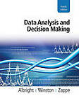 Data Analysis and Decision Making by Wayne Winston, S. Albright, Christopher J. Zappe (Mixed media product, 2010)