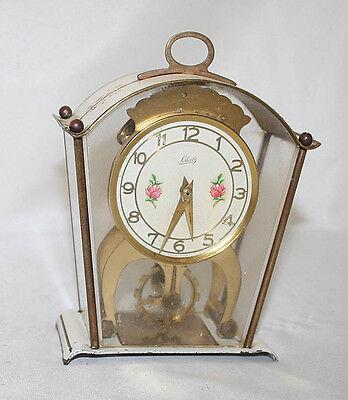 German Antique 8 Day Skeleton Clock Schatz Germany circa 1930s