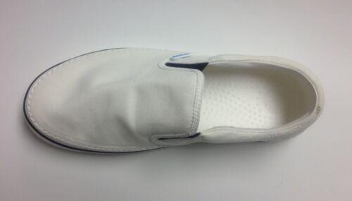 CLOSEOUT Crocs Hover Slip-On Canvas Shoes White White Size Men 4 Women 6