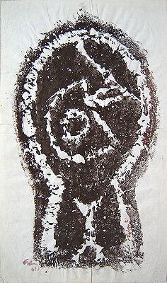 MARK TOBEY Signed 1961 Original Unique Monotype