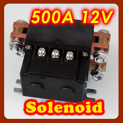 WINCHES SOLENOID 12V 500A SUITABLE10000LB TO 16800LB WINCHES