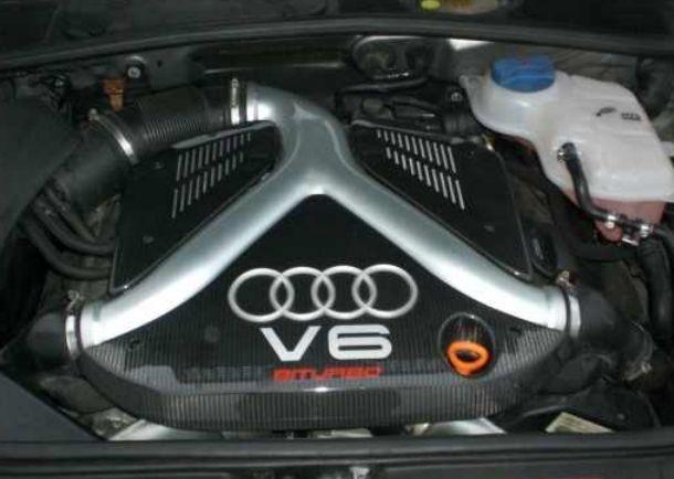 2001 Audi RS4 Biturbo 2,7 V6 AZR Motor Moteur Engine 380 PS