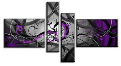 Modern Abstract Huge Art Oil Painting Handmade canvas on wall No Frames