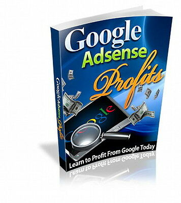 Learn How To Make Money With Google Adsense On Your Website - Income Source (CD)