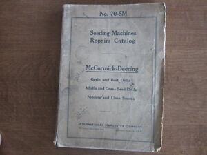 international 620 grain drill manual