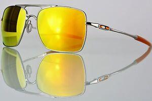 af01f919bb Oakley Deviation Polished Chrome w  Fire Iridium OO4061-03 NEW