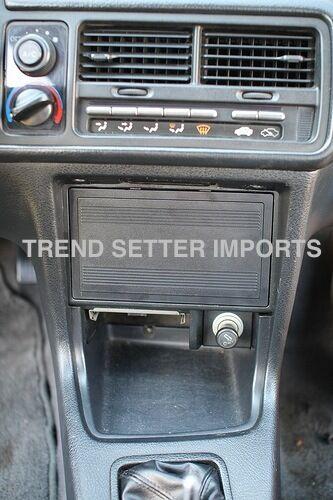 90-93 INTEGRA RADIO BLOCK OFF DELETE/COVER PLATE OEM ACURA RS LS GS GSR