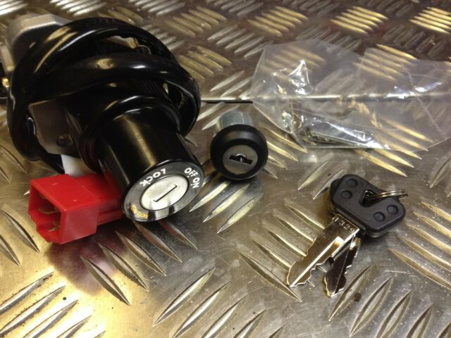 YAMAHA YZFR125 YZF R125 IGNITION SWITCH & SEAT LOCK SET ALL YEARS 2008-2017