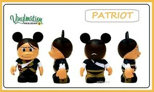 DISNEY-VINYLMATION-3-INDEPENDENCE-DAY-PATRIOT-HOLIDAY-2-4TH-OF-JULY