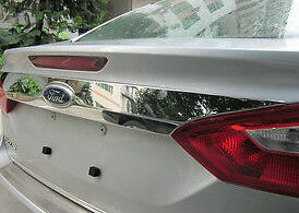 12 13 FORD FOCUS MK3 III 4 DOOR SEDAN CHROME REAR TAIL HATCH TRUNK DOOR LID TRIM