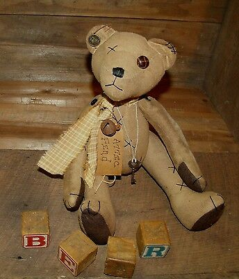 PRIMITIVE PATTERN ON CD/MY PRIMITIVE SALTBOX/ATTIC BEAR/DOLL/SITTER/OLD TOY/pt52