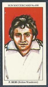 THE-SUN-1979-SOCCERCARDS-698-BOLTON-WANDERERS-PETER-REID