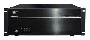 NEW-Pyle-PT8000CH-19-039-039-Rack-Mount-8000-Watt-8-Channel-Stereo-Mono-Amplifier