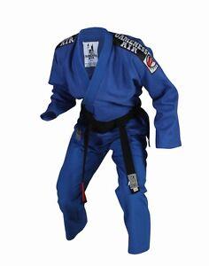 G1210-Gameness-AIR-Gi-Blue-Brazilian-Jiu-Jitsu-Uniform-ultra-light-summer-weight