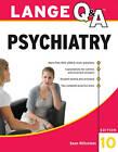 Lange Q&A Psychiatry by Sean Blitzstein (Paperback, 2011)