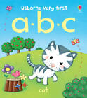 Very First Words: ABC by Felicity Brooks (Board book, 2012)