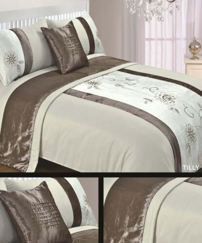 Double /& King Size 5pc Bed in a Bag Bedding Duvet Quilt Cover Set NEW Designs