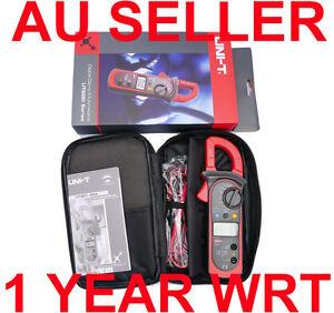 UNI-T-DIGITAL-AUTO-RANGE-AC-CLAMP-METER-MULTIMETER-UT201-OZ-Seller-Free-Shipping