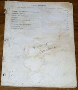Massey-Ferguson-Combine-Assembly-PreDelivery-amp-Operators-Manual
