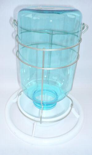 NEW ANTI-ALGAE UNIVERSAL PLASTIC MINE LAMP//JAM JAR FEEDER SEED 1L//1KG