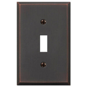 Cambridge Distressed Antique Bronze Switchplate Wall Plate