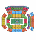 Florida Gators Football vs Kentucky Wildcats Tickets 09/22/12 (Gainesville)