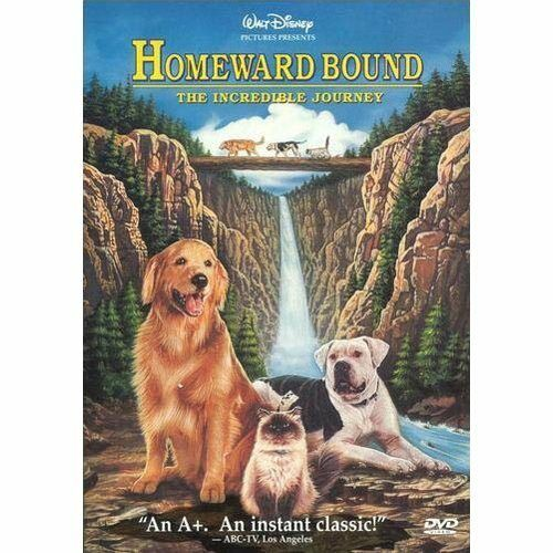 Homeward Bound: The Incredible Journey (DVD, 1997) NEW! Free Shipping in Canada!