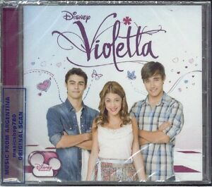 DISNEY-VIOLETTA-SOUNDTRACK-SEALED-CD-NEW-2012