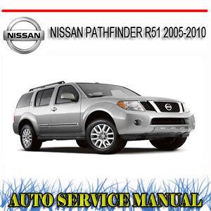 NISSAN-PATHFINDER-R51-2005-2010-REPAIR-SERVICE-MANUAL-DVD